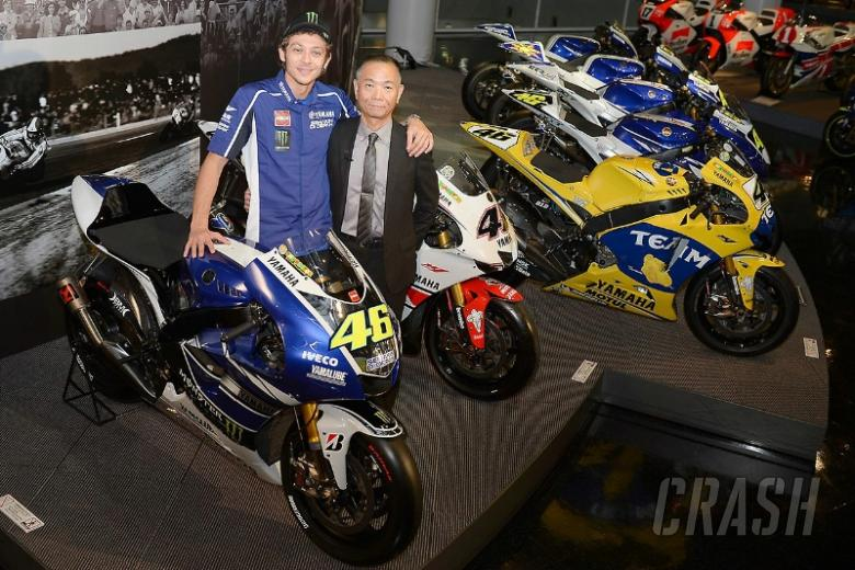 Rossi visits 'old friends' in Japan