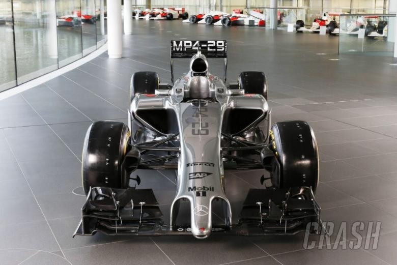 McLaren launches MP4-29