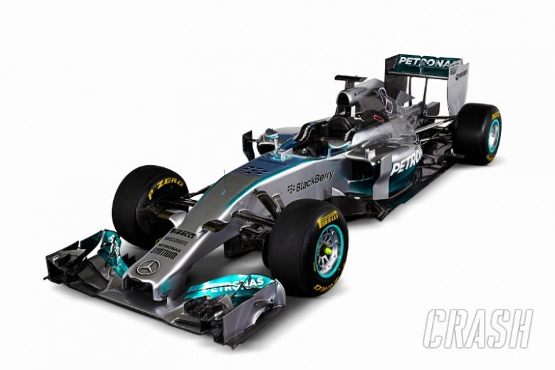 Mercedes unveils 'innovative' F1 W05