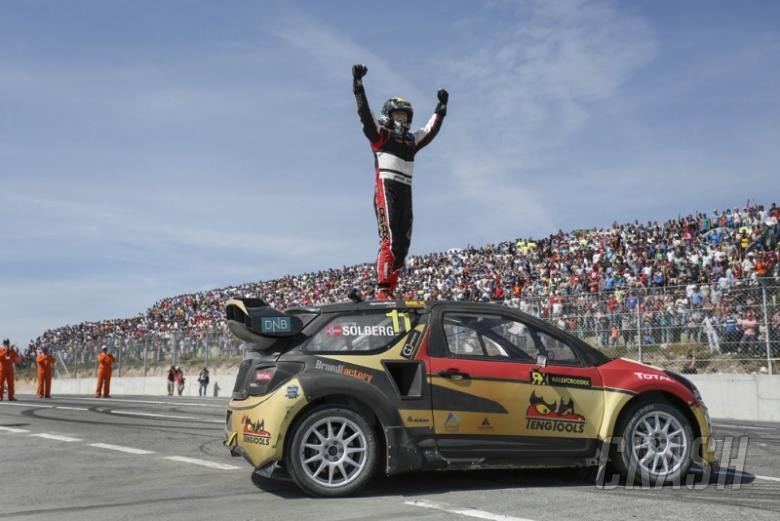 RX: Petter Solberg to defend World RX title
