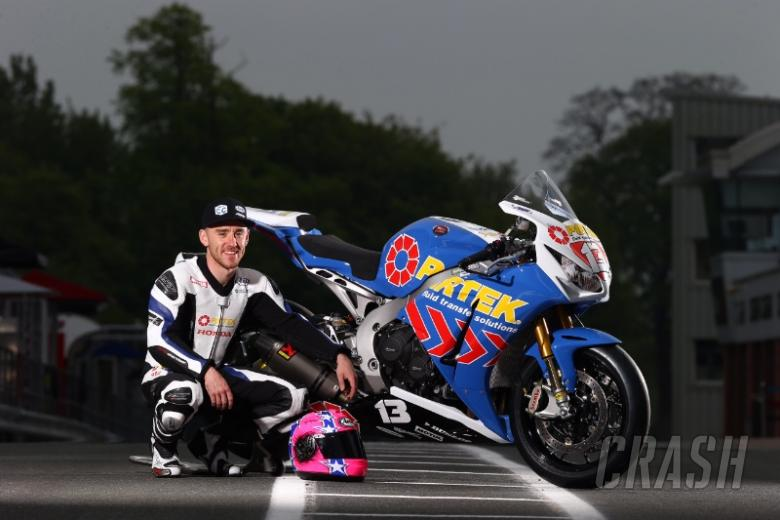 NW200: Lee Johnston clinches last lap Supertwin success