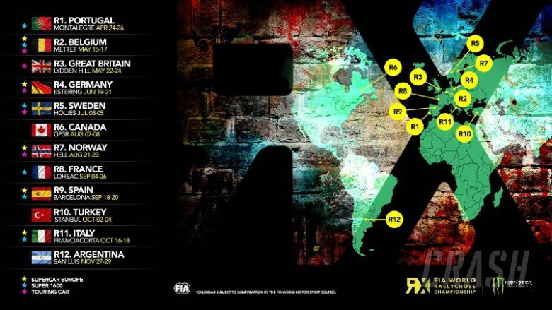RX: 2015 World Rallycross calendar announced
