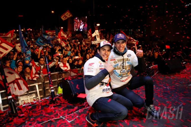Home town celebration for Marquez brothers