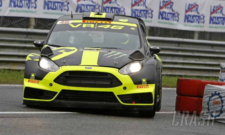Rossi second to Kubica in Monza Rally