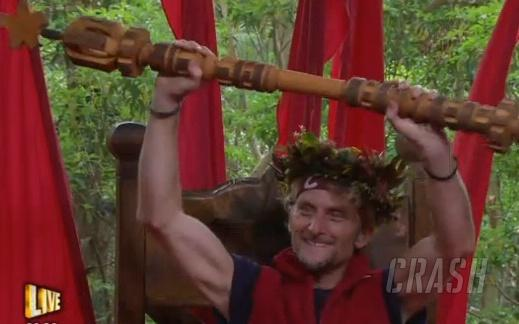 Carl Fogarty wins 'I'm A Celebrity...'