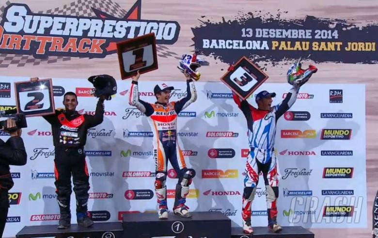 Marquez beats Mees in Superprestigio
