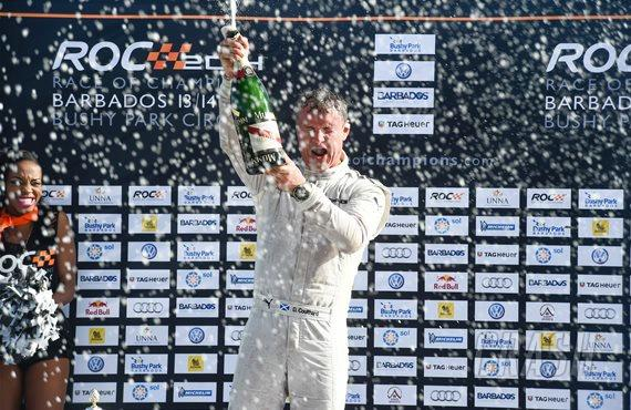 Veteran Coulthard beats young guns to Race of Champions crown