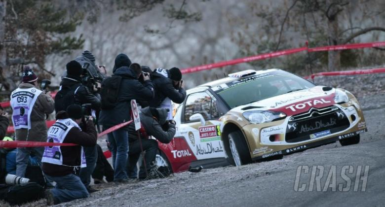 Meeke: I tried to steer into the skid, but...