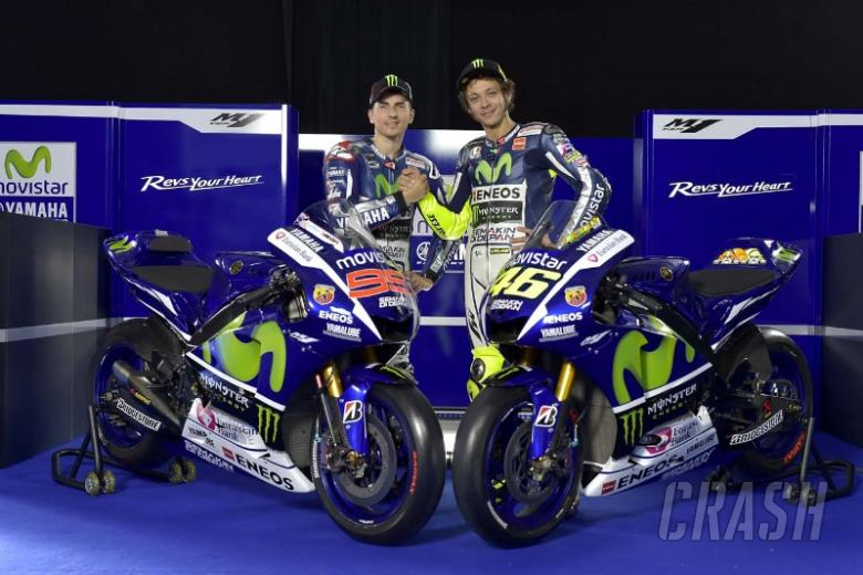 FIRST LOOK: Rossi and Lorenzo's 2015 Yamaha