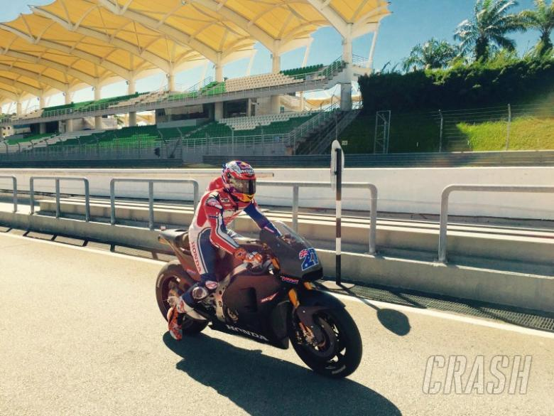 Stoner completes 'very positive' Sepang test