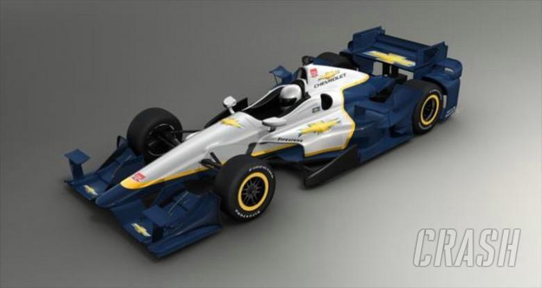 Chevrolet unveils new IndyCar aerodynamic kit