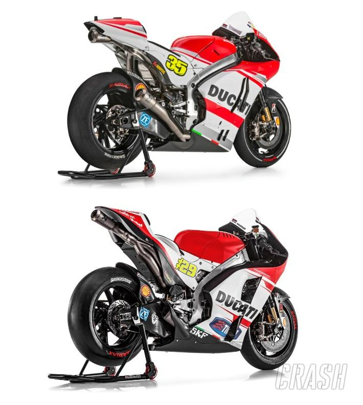 Ducati GP14 and GP15: Back-to-Back