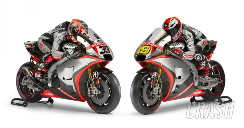 Aprilia reveals MotoGP colours