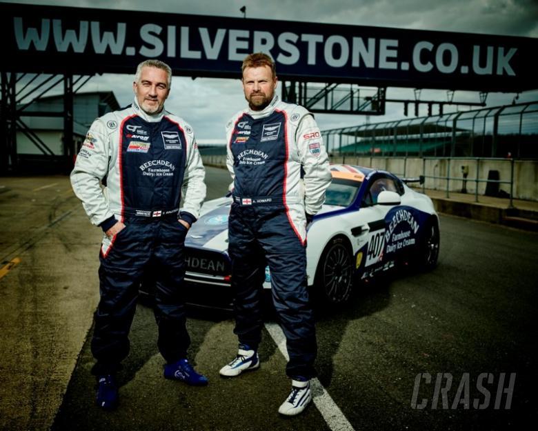 Bake Off's Paul Hollywood makes GT racing debut