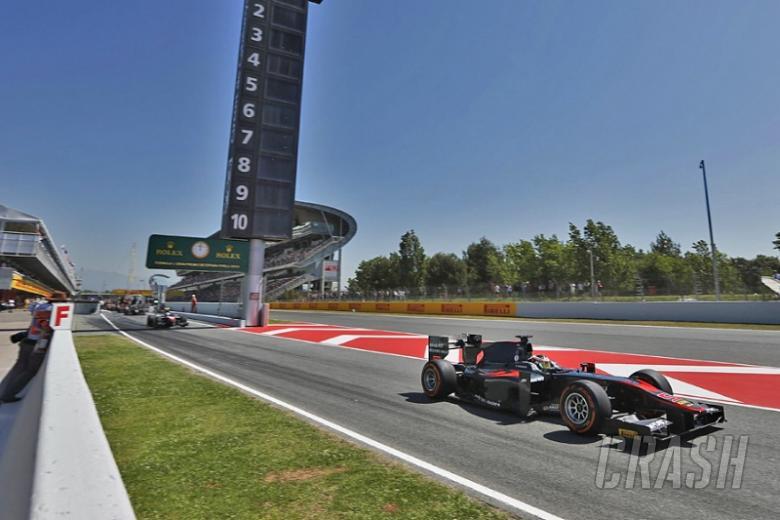 GP2 pre-season testing dates announced