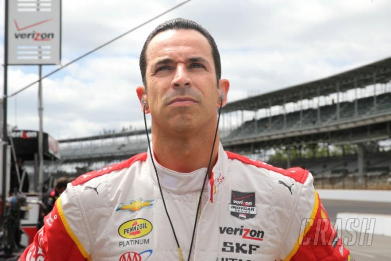 Indy 500: Showers can't cool Helio's hot Saturday pace