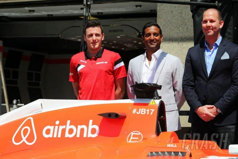 Manor reveals sponsor deal with Airbnb