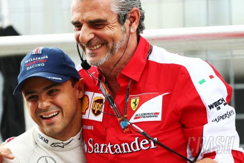 Massa laughs off Arrivabene pit lane incident