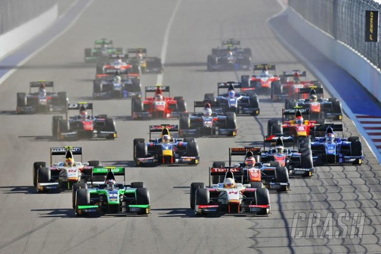 Sochi: GP2 sprint race results