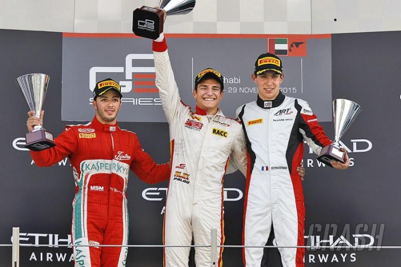 GP3: Palou heads Campos Racing line-up