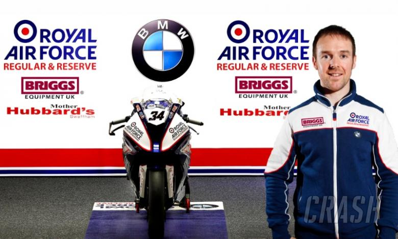 Seeley returns to BSB with RAF BMW