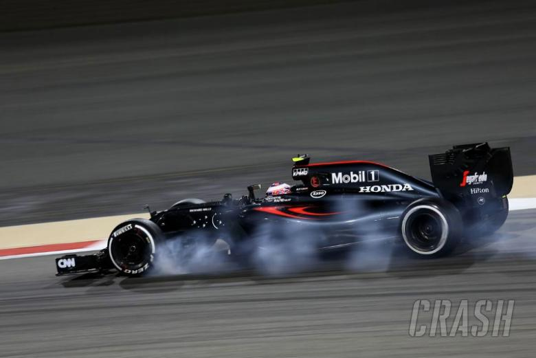 Button: It was a different car in Q2...