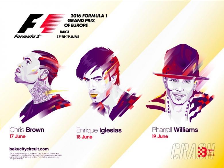 Baku welcomes stars of music at F1 debut