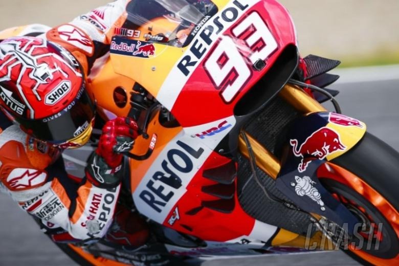 Six wings for Marquez!