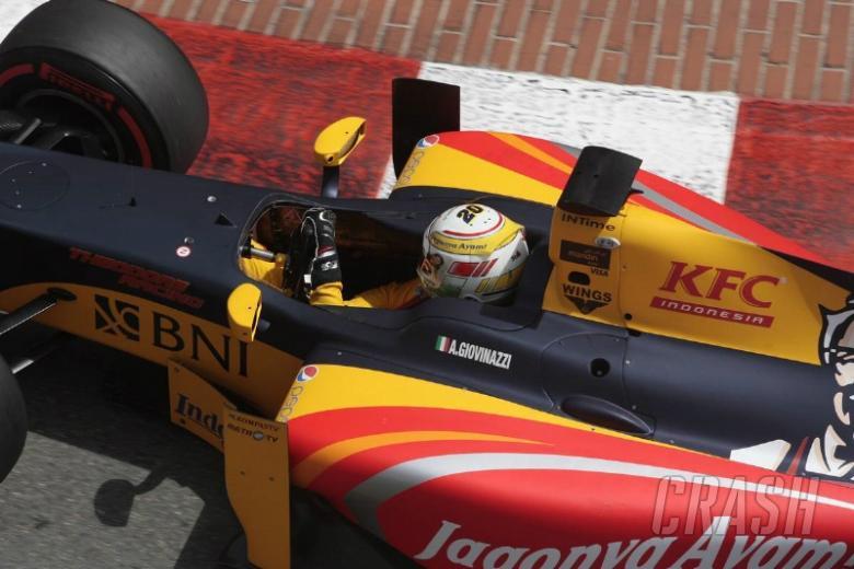 Giovinazzi edges Matsushita for maiden GP2 pole