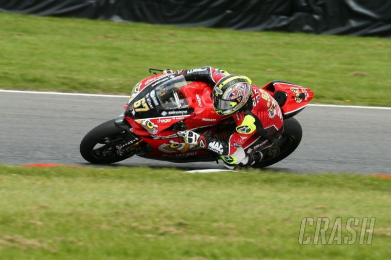 Byrne experiments with front tyre to find lap gains
