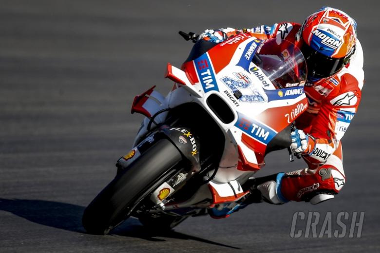 Casey Stoner: The first time I've pushed in years!