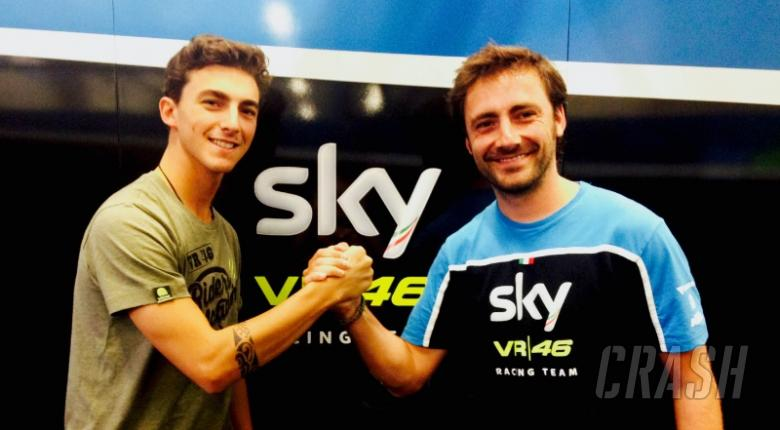 Bagnia back with VR46 for Moto2 debut