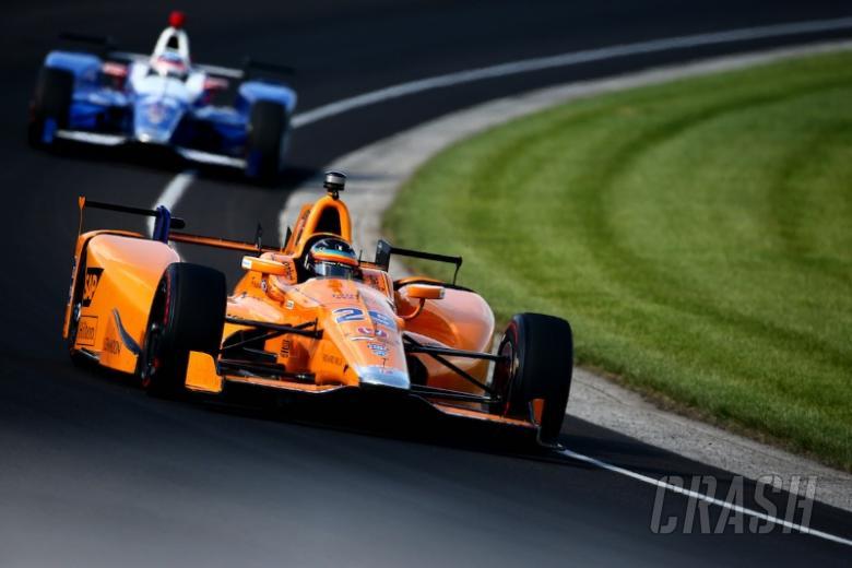 IndyCar: Fernando Alonso Indy 500 practice