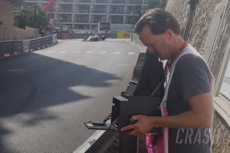 Joshua Paul and his 103 year-old Graflex camera