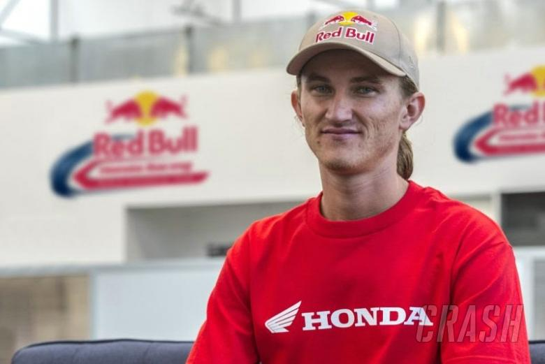 Jake Gagne, Red Bull Honda [Credit: Red Bull Honda]