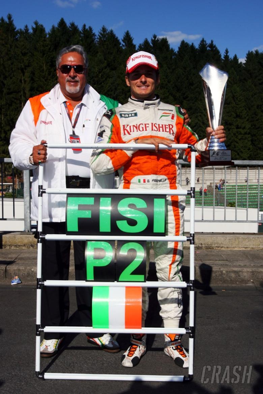 Brundle: Fisichella could have won.