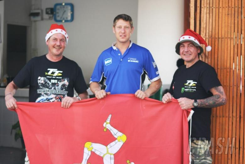 Johnson claims Christmas one-two in Thailand Superbike