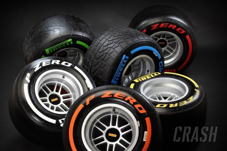 Pirelli's F1 2013 tyre options