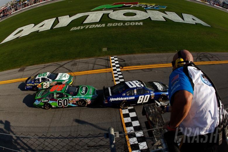 Tony Stewart wins at Daytona