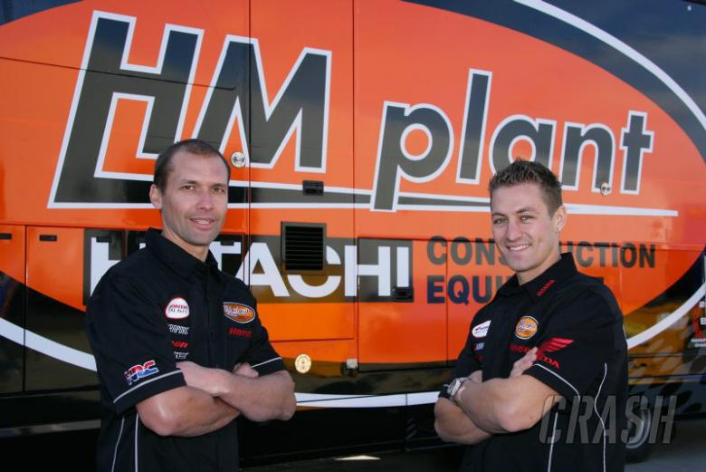 : Glen Richards, Joshua Brookes - HM Plant Honda