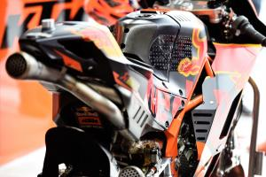 KTM: We can do it with steel