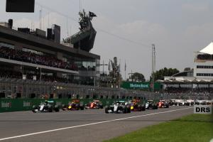 Mexican Grand Prix, race start,