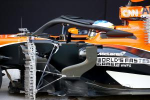 "Alonso recovers from ""small kiss"" crash in Abu Dhabi test"