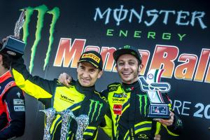 Rossi overcomes penalty for record Monza Rally win