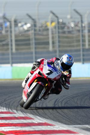 Checa, French WSBK 2011