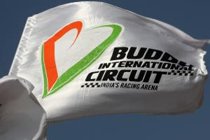 Buddh International Circuit flag