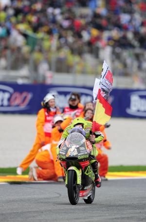 Terol, 2011 125GP World Champion, Valencia 125GP Race 2011
