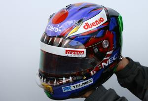 24.11.2011- Helmet of Kamui Kobayashi (JAP), Sauber F1 Team C30