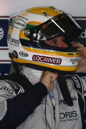 25.11.2011- Friday Practice 1, Rubens Barrichello (BRA), Williams FW33