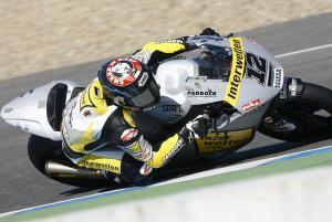 Luthi, Jerez Moto2/3 tests, March 2012